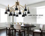 Jianer現代様式の上12ライトホテルのための装飾的なハングのシャンデリアランプの照明