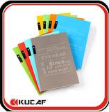 Impresión de papel colorida del cuaderno de cubierta suave del cuaderno