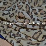Breathable мягкая напечатанная ткань полиэфира шифоновая для платья лета