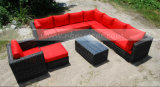 정원 Sectional Outdoor Wicker 또는 Rattan Sofa Set (MTC-189)