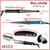 Цена по прейскуранту завода-изготовителя Mch голодает 2 в 1 раскручивателе волос утюга Curler волос плоском
