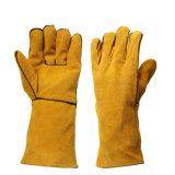 Сверхмощные теплостойкNp перчатки заварки Proctection руки для Welders