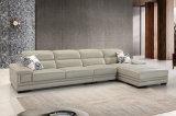 Il sofà commerciale moderno del cuoio del salone ha impostato (HC2082)