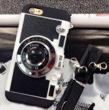 Творческая крышка случая задней части камеры силикона с планкой для iPhone 6s/6splus
