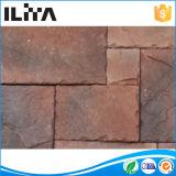 Tijolo de pedra cultivado artificial da telha do folheado para a decoração do edifício, material decorativo exterior do edifício (30005)