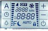 Pantalla LCD personalizada para el panel de temperatura