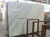 Marbre blanc pur/marbre blanc/blanc blanc/statuaire de Carrar/tuiles de Guangxi brames blanches blanches/neuves de Statuario/