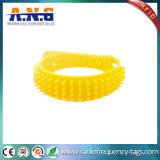 Bracelets réglables d'IDENTIFICATION RF de fréquence ultra-haute avec ISO18000/GV Certificatio