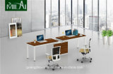 Estação de trabalho modular da mobília de escritório do projeto novo com pé de aço