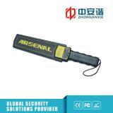 Détecteur de métaux rechargeable de Digitals d'alarme d'Élevé-Décibel pour l'inspection de côté
