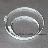 Braçadeiras para o duto de alumínio flexível Semi-Rigid