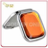 昇進のギフトの光沢がある水晶折る金属小型ミラー