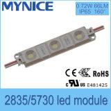 Altamente custo - 2835/5730 de luz impermeável eficaz do módulo do diodo emissor de luz da injeção para o sinal