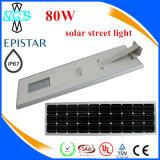Alta luminosità tutta in una lista solare di prezzi dell'indicatore luminoso di via di 30W LED
