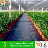 Weed-Schutzvorrichtung-großer Plastikmatten-Garten-Grundabdeckung