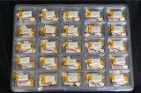 Bateria 401540 do Li-Polímero do lítio 80mAh do elevado desempenho 3.7V