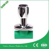 Sam-REINO UNIDO 20, vávula de bola barata del plástico PPR de 40, de 25, de 50, de 32, de 63m m para la agua caliente y fría