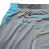 Lycra de las muchachas de compresión personalizada Fitness Wear 3/4 pantalones de la yoga
