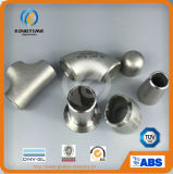 Garnitures de pipe soudées bout à bout de chapeau de l'acier inoxydable 304/304L (KT0360)