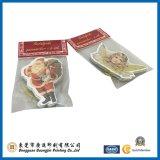 Modifica di carta d'abbigliamento stampata su ordinazione di caduta (GJ-Hangtag002)