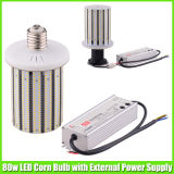 UL ETL 80 Watt LED Corn Bulb per Parking Lot Street Lighting