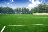 Grama artificial ao ar livre para o campo do futebol & de futebol