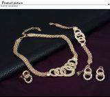 팔찌 목걸이 귀걸이 반지 4 PCS 형식 보석 세트