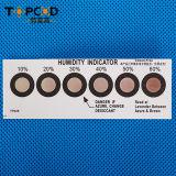 6 pontos Brown ao cartão Azure do indicador de umidade