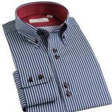관례 100%년 면 Mens 예복용 와이셔츠