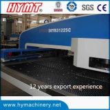 Tipo máquina de SKYB31225C de perfuração da placa de aço de carbono da torreta do CNC