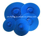 Conjunto de 5 FDA resistente al calor de silicona estándar de succión Tazón, Pan, Pot, Cubiertas para contenedores
