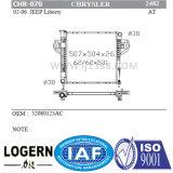 Radiateur automatique brasé pour la jeep Liberty'02-06 de Chrysler chez Dpi : 2482