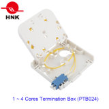 Transparent Cover를 가진 1 포트 Fiber Optic Cable Termination Box