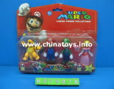 Выдвиженческая пластмасса подарка Toys кольца радуги утки (947007)