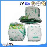 Couches-culottes de bébé de Pamperz de coton de qualité avec Leakgaurds
