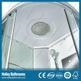 Cabine multifonctionnelle de douche de modèle neuf avec la doubles roue de rouleau et miroir (SR111W)