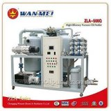 Горячий завод очищения масла трансформатора Двойн-Этапа сбывания (ZLA-200BY)