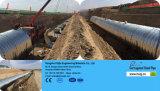 Tubo de aço Shaped Semi-Redondo da sargeta