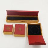 Qality y rectángulo de almacenaje de lujo de la joyería de la cartulina (J28-E)
