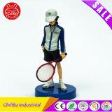 Принц рисунка действия спорта тенниса пластичного