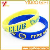 2017 Wristband/braceletes quentes do silicone da forma da venda