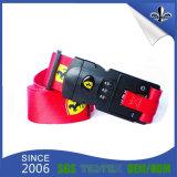 عادة يطبع بوليستر نيلون شريط منسوج حق/خشبيّة شريط حزام سير مع إبزيم بلاستيكيّة