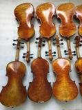 Violino elevado 4/4 da antiguidade do violino do instrumento musical de Quliaty