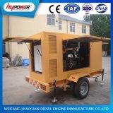 передвижной комплект генератора трейлера 90kw с 2 колесами для непредвиденный пользы