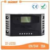 Controlemechanisme van de Lader van Suoer 12V 24V 20A het Zonne (st-L1220)