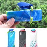 Bolsa reutilizable plegable plegable flexible al aire libre del bolso de hielo de las botellas de agua