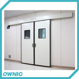 Запатентованная раздвижная дверь стационара продукта Qtdm-11 герметичная для комнаты Ot