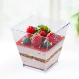 食品等級のプラスチックコップのKovaのデザートのコップ