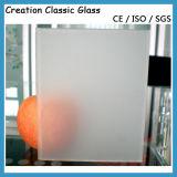 Низкий утюг/ультра ясное Tempered матированное стекло для дверей