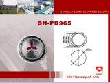 Höhenruder-Blindenschrift-Drucktaste (SN-PB965)